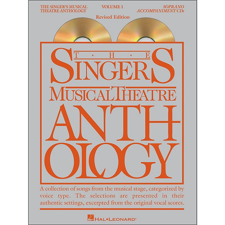 Hal Leonard Singer's Musical Theatre Anthology for Soprano Voice Volume 1 2CD Accompaniment