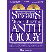 Hal Leonard Singer's Musical Theatre Anthology for Soprano Voice Volume 4 Accompaniment CD's (2 CD Set)