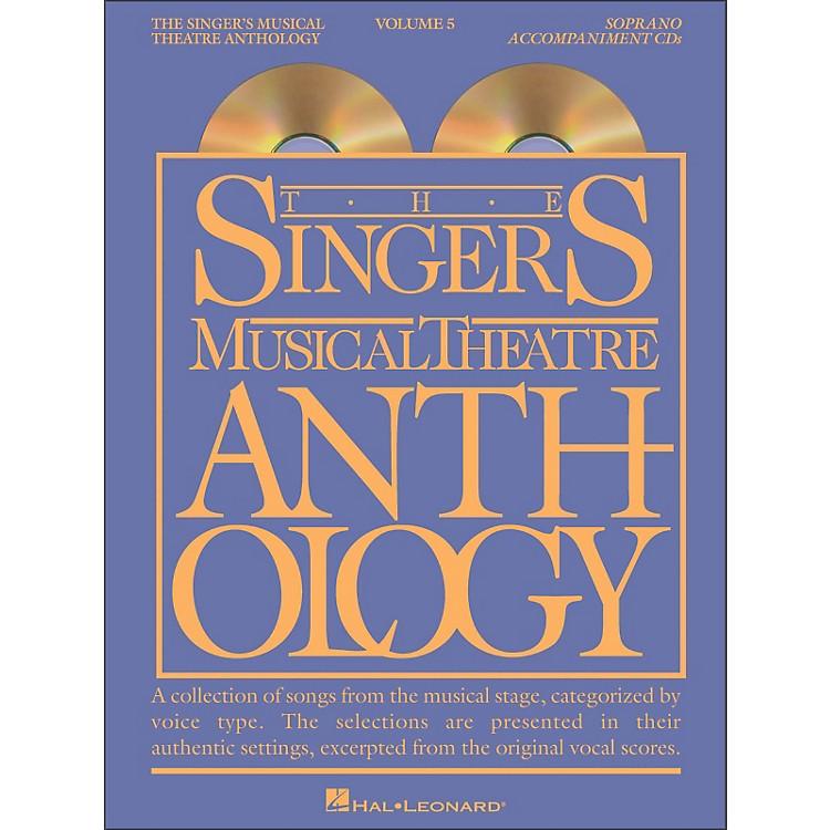Hal LeonardSinger's Musical Theatre Anthology for Soprano Vol 5 2/CD Accompaniment