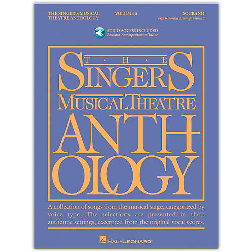 Hal Leonard Singer's Musical Theatre Anthology for Soprano Vol 5 Book/Accompaniment CD's