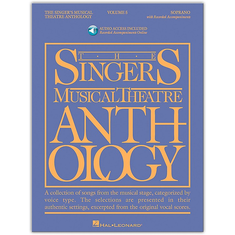 Hal LeonardSinger's Musical Theatre Anthology for Soprano Vol 5 Book/Accompaniment CD's