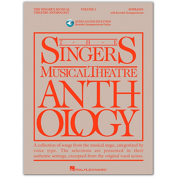 Hal Leonard Singer's Musical Theatre Anthology for Soprano Volume 1 Book/2CD's
