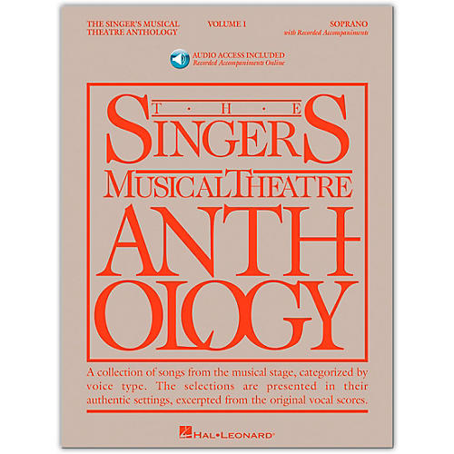 Hal Leonard Singer's Musical Theatre Anthology for Soprano Volume 1 Book/Online Audio