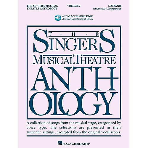 Hal Leonard Singer's Musical Theatre Anthology for Soprano Volume 2 Book/2CD's