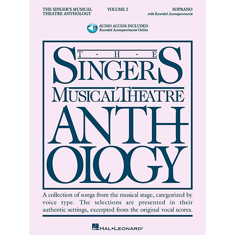 Hal Leonard Singer's Musical Theatre Anthology for Soprano Volume 2 Book/2CD's