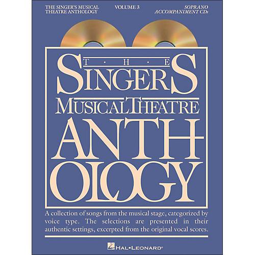 Hal Leonard Singer's Musical Theatre Anthology for Soprano Volume 3 2CD's Accompaniment