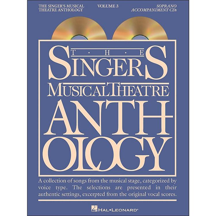 Hal LeonardSinger's Musical Theatre Anthology for Soprano Volume 3 2CD's Accompaniment