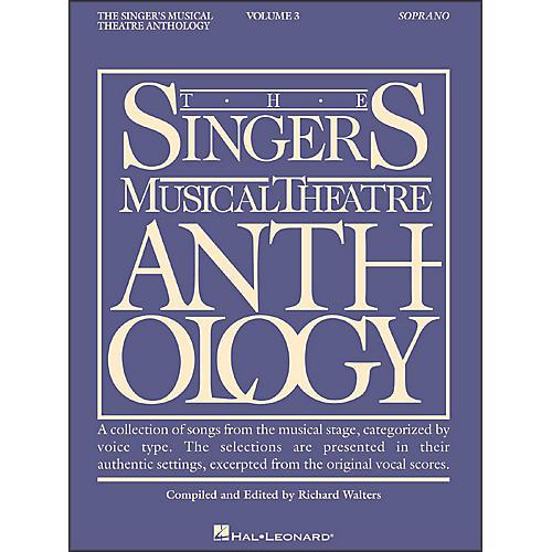Hal Leonard Singer's Musical Theatre Anthology for Soprano Volume 3-thumbnail