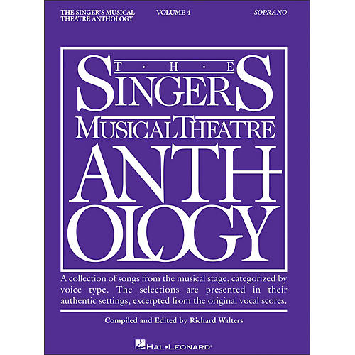 Hal Leonard Singer's Musical Theatre Anthology for Soprano Volume 4
