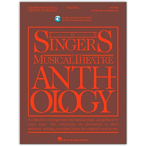 Hal Leonard Singer's Musical Theatre Anthology for Tenor Voice Volume 1 Book/Online Audio