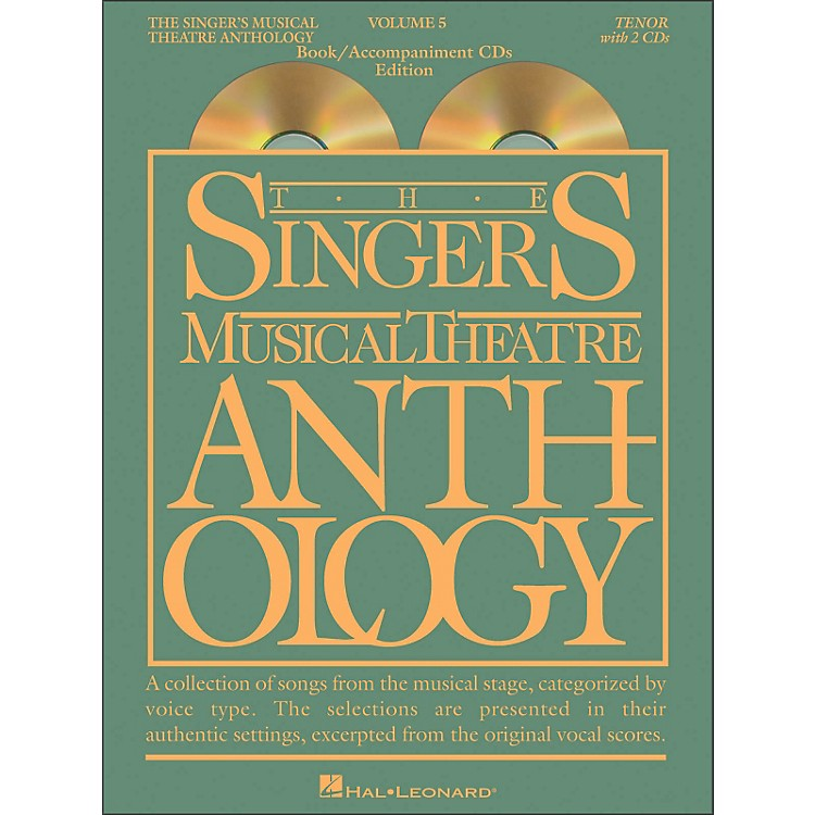 Hal Leonard Singer's Musical Theatre Anthology for Tenor Volume 5 Book/2CD's