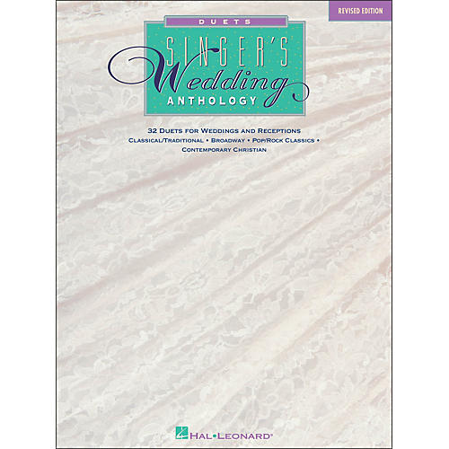 Hal Leonard Singer's Wedding Anthology Duets