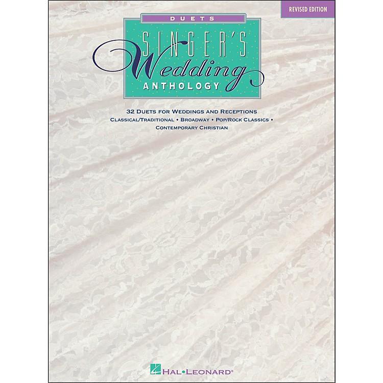 Hal LeonardSinger's Wedding Anthology Duets