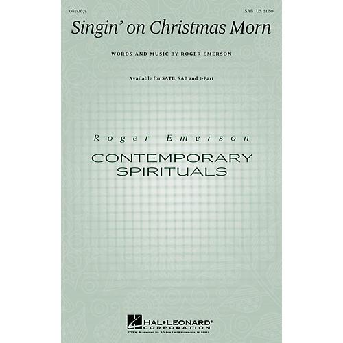 Hal Leonard Singin' on Christmas Morn SAB composed by Roger Emerson-thumbnail