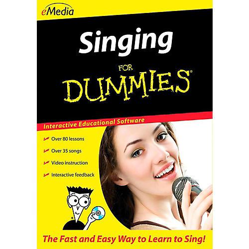 Emedia Singing For Dummies - Digital Download-thumbnail