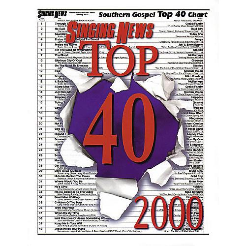 Hal Leonard Singing News Top 40 - 2000 Book