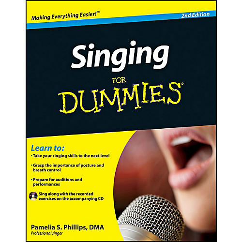 Mel Bay Singing for Dummies, 2nd Edition  Book/CD Set