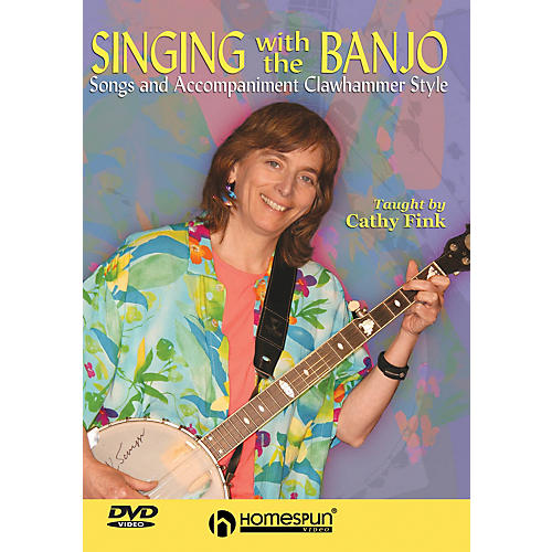 Homespun Singing with the Banjo (Songs and Accompaniment Clawhammer Style) Homespun Tapes Series DVD by Cathy Fink-thumbnail
