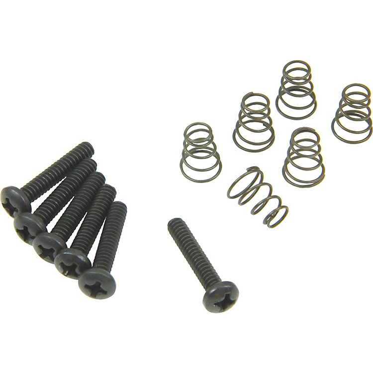 DiMarzio Single Coil Mounting Hardware Kit Black
