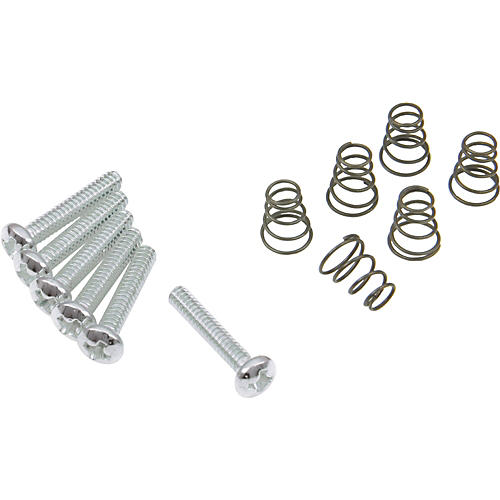 DiMarzio Single Coil Mounting Hardware Kit Chrome