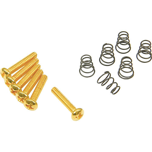 DiMarzio Single Coil Mounting Hardware Kit Gold