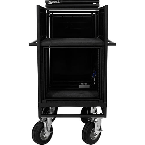 Pageantry Innovations Single Mixer Cart Stealth Series Upgrade w/ Bi-Fold Top Cover