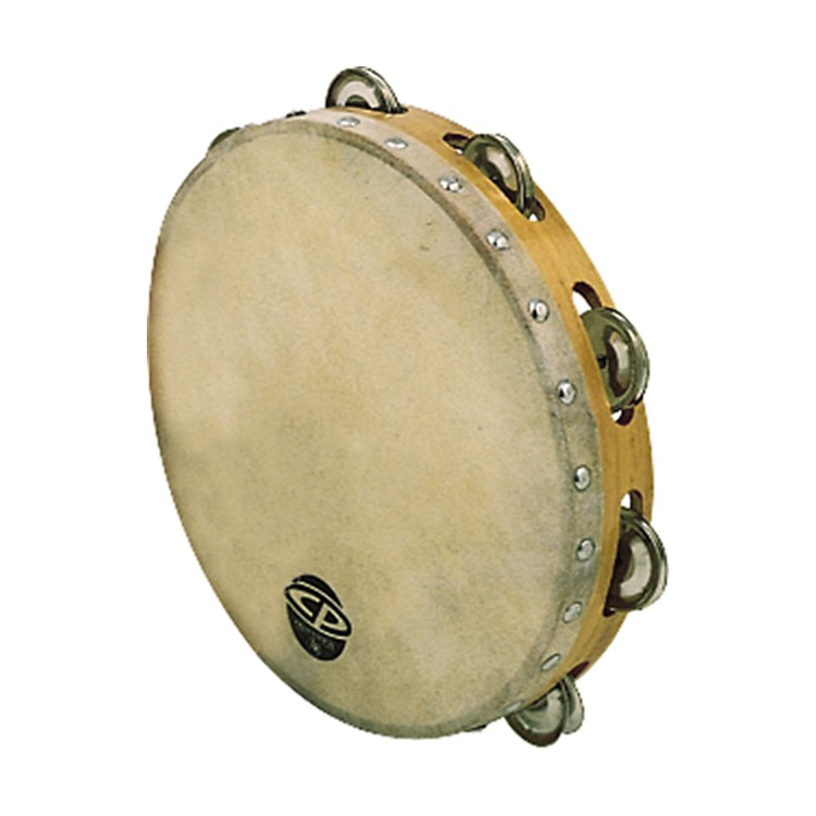 CP Single Row Tambourine  10 Inches