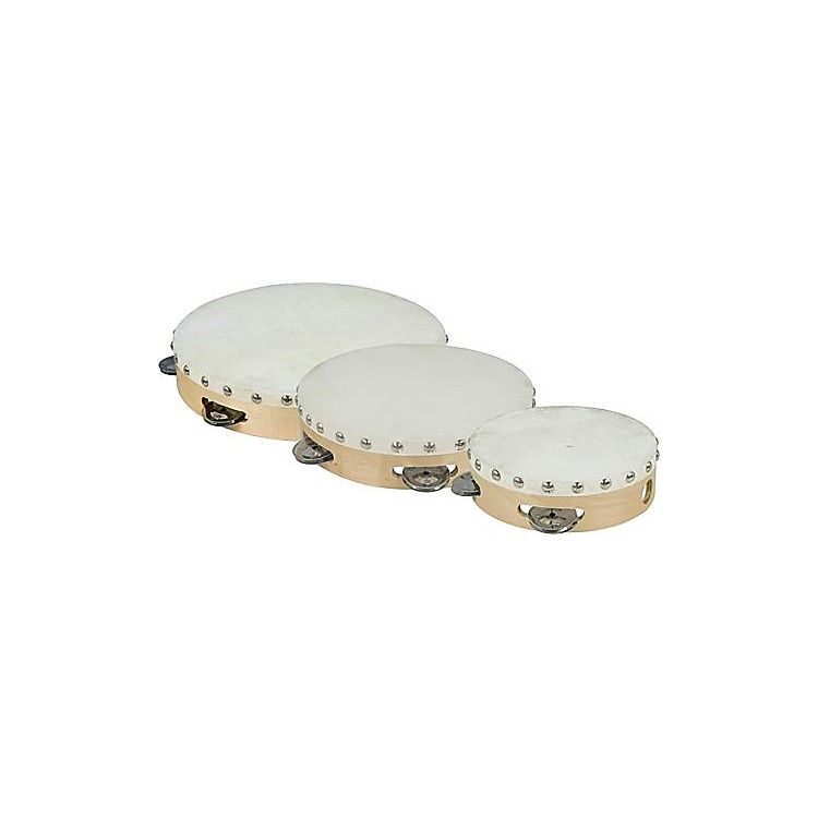Cannon Percussion Single-Row Tambourine  10 Inches