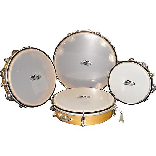 Mountain Rythym Single Row Tunable Tambourine