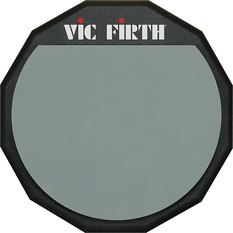 Vic Firth Single Sided Practice Pad 12 Inches 12 Inches