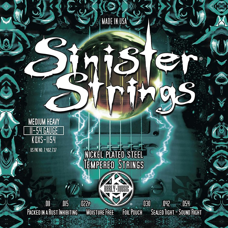 Kerly Music Sinister Strings NPS Low Tune Electric Guitar Strings