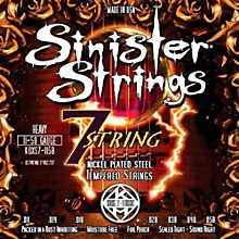 Kerly Music Sinister Strings Nickel Wound Electric Guitar Strings - 7-String Heavy