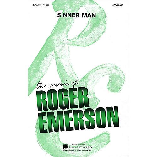 Hal Leonard Sinner Man 3 Part arranged by Roger Emerson-thumbnail