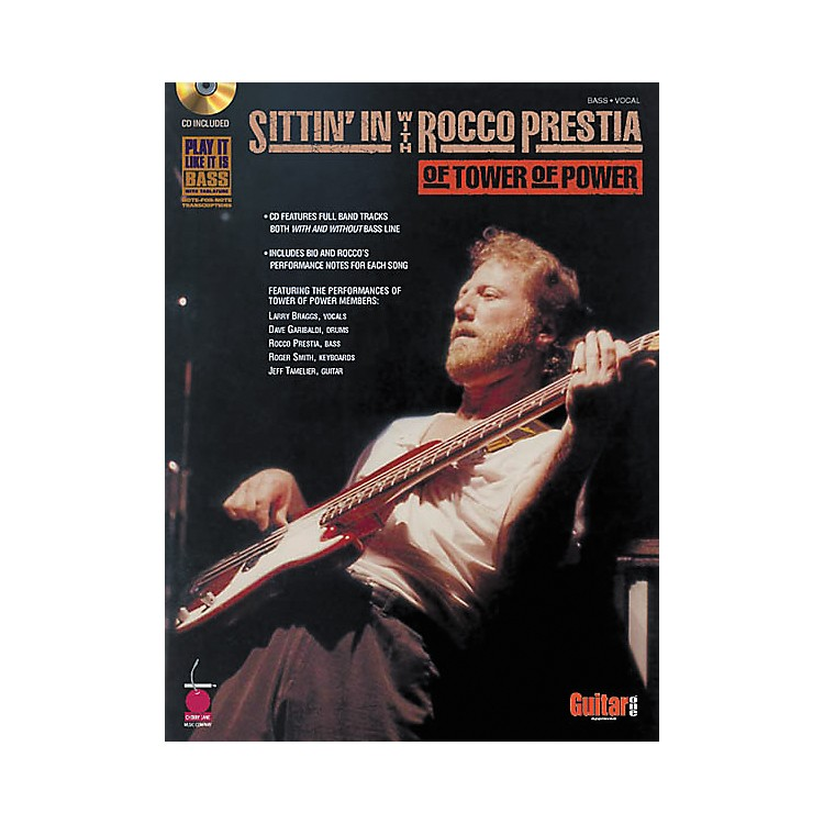 Cherry LaneSittin' In with Rocco Prestia of Tower of Power Bass Guitar Tab Songbook with CD
