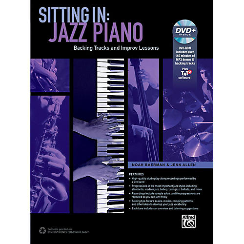 Alfred Sitting In: Jazz Piano Book & DVD-ROM