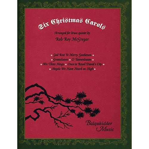 Carl Fischer Six Christmas Carols Book