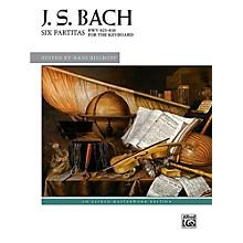 Alfred Six Partitas, BWV 825--830 - Book Advanced