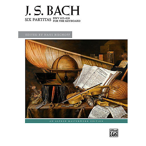 Alfred Six Partitas, BWV 825--830 - Book Advanced
