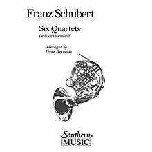 Southern Six Quartets (Horn Quartet) Southern Music Series Arranged by Verne Reynolds