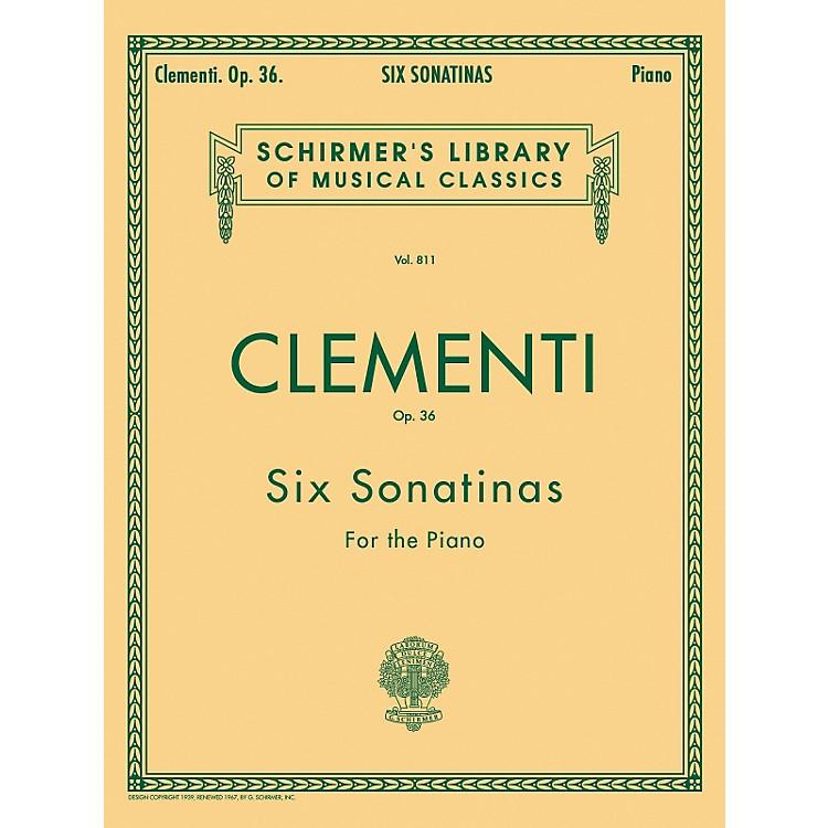 G. SchirmerSix Sonatinas Op 36 Piano By Clementi