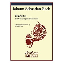 Southern Six Suites Southern Music Series Book  by J.S. Bach Arranged by Wendell Hoss