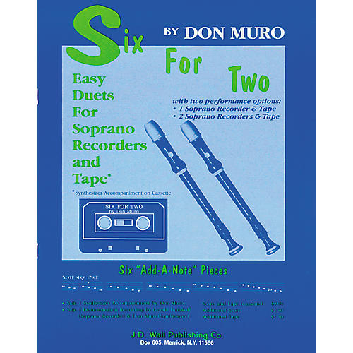 Magnamusic Six for Two Economy Pack- 10 Scores