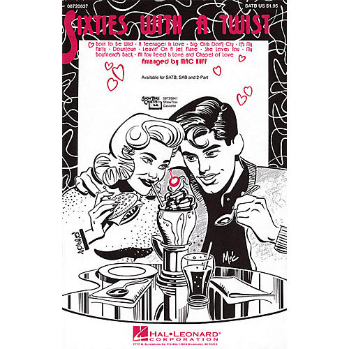 Hal Leonard Sixties with a Twist (Medley) SAB Arranged by Mac Huff-thumbnail