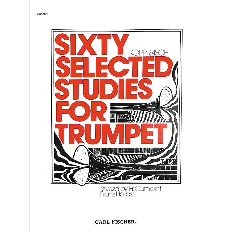 Carl FischerSixty Selected Studies for Trumpet