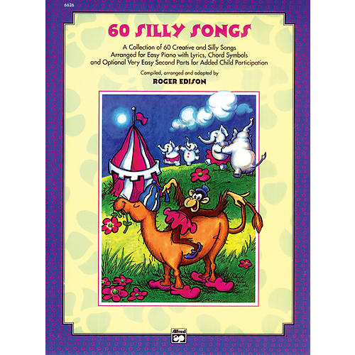 Alfred Sixty Silly Songs Book/CD