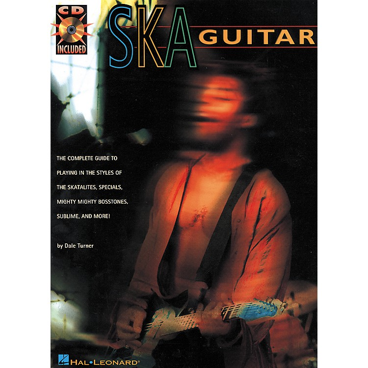 Hal Leonard Ska Guitar Book with CD