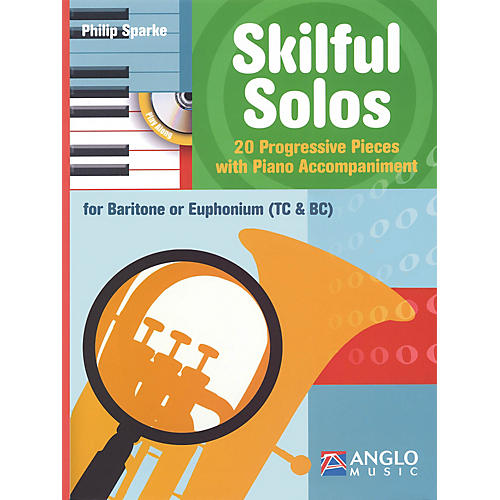 Anglo Music Skilful Solos (Baritone/Euphonium and Piano) Anglo Music Press Play-Along Series Softcover with CD-thumbnail