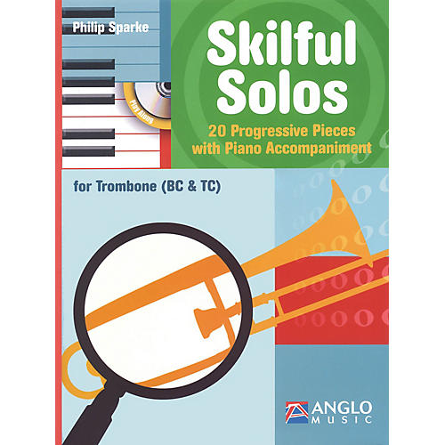 Anglo Music Skilful Solos (Trombone and Piano) Anglo Music Press Play-Along Series Softcover with CD-thumbnail