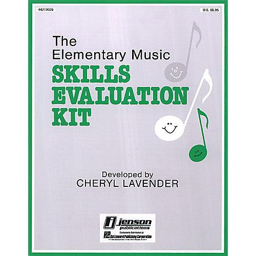 Hal Leonard Skills Evaluation Kit RESOURCE BK Composed by Cheryl Lavender-thumbnail
