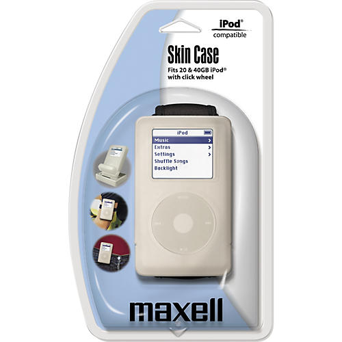 Maxell Skin Case for 4th Gen iPod